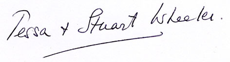 Tessa and Stuart Signature