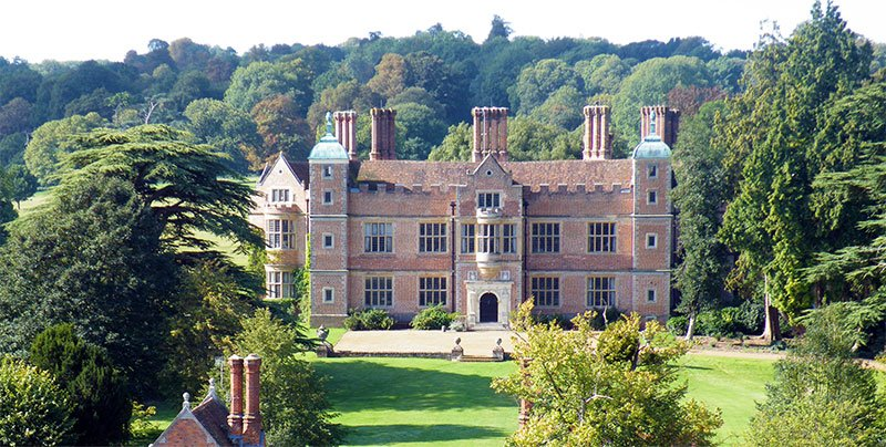 Chilham castle and gardens