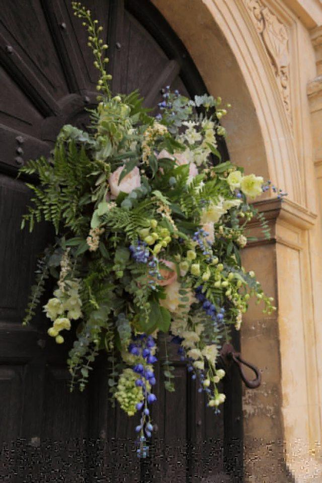 Front door flowers
